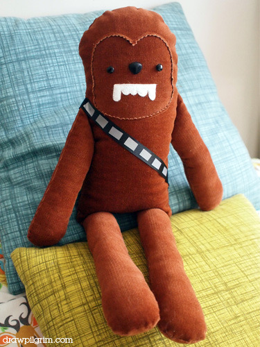 star wars softie pattern