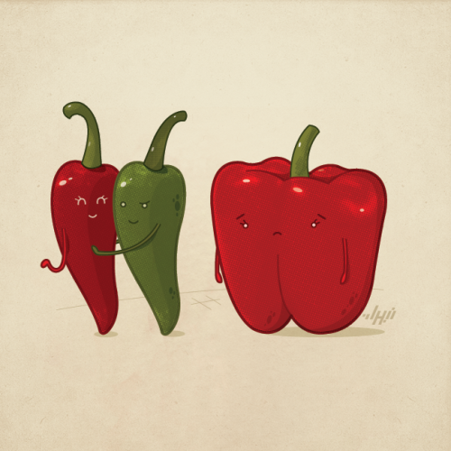 nabhanabdullatif:  Hot Stuff —— I wish i was 'hot' too! A concept that revolves around attraction, hope you like it.