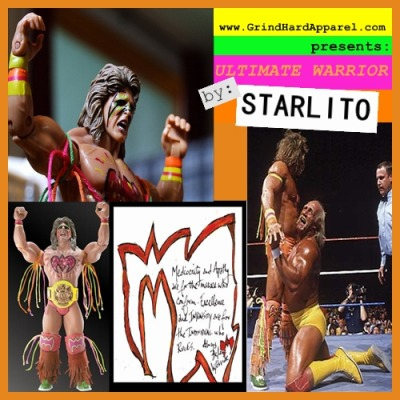 "STARLITO - ULTIMATE WARRIOR In an era where artists can't get there albums out in a timely manner, or their artist's mixtapes for that matter, I'll keep smashin'. Regardless of anyone's beliefs, I don't believe I'm bound to any recording commitments, I don't owe anybody SHIT, & I AIN'T GOT NO BOSS. The Ultimate ""WAR"" that is the frame of these recordings revolves around a separation anxiety from the plague of yesteryear in this career path. I'm superb at rapping no matter of my surroundings, peers, or circumstances. This is not a follow up to #Stepbrothers, but instead ""@ WAR w/ Myself"". It would've been wack as hell to do ""@ WAR w/ Myself 2"" so here is your sequel. No less torn, no more puppet show. My homie (free) RED DOT, of the Trash Bag Gang, is even hosting this one as I have no talking to do. The release coincides w/ the launch of my new & improved store GrindHardApparel.com & the tape can be found by clicking on the cover… Features Red Dot, Young Dolph, Young Buck, Don Trip, Wale, Yo Gotti, Polemite, West, oFishal, C.U.B., Robin Raynelle, & Ke'Anthony… Production by Coop, Fate Eastwood, Lil Keis, Drumma Boy, NYSE, Celsizzle, Zeus, Frank Castro, & WeeWee LOVE, LITO"
