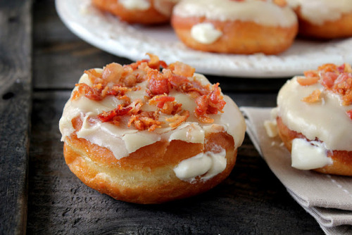 bakeddd:  maple bacon donuts click here for recipe