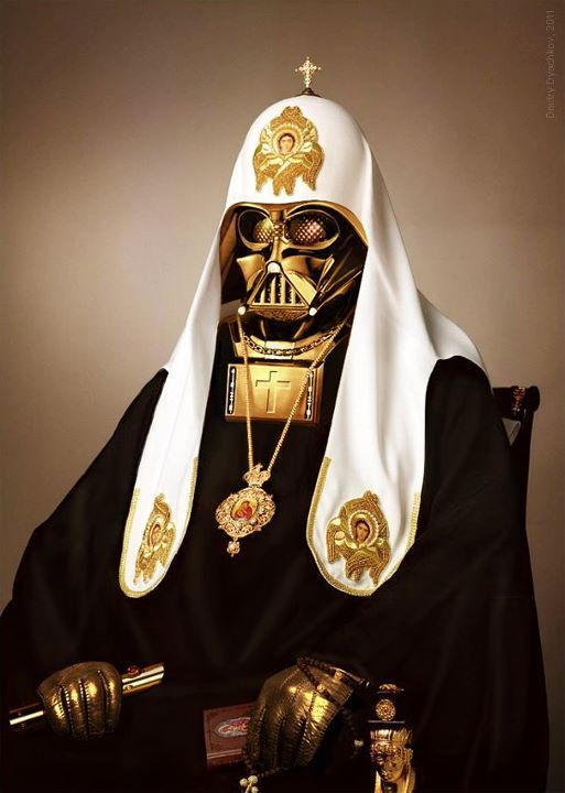 melazcosmo:  Russian Orthodox Darth Vader | © Dmitry Dyachkov