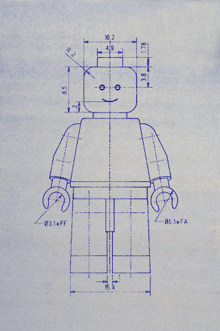 jaymug:  Lego Man Blueprint
