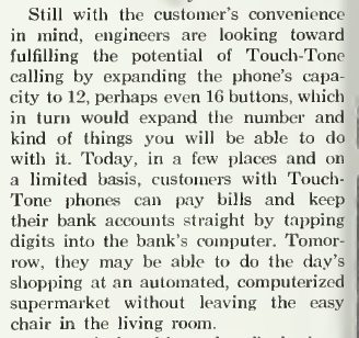 ~ Bell Telephone Magazine, 1966via Internet Archive(click to enlarge)