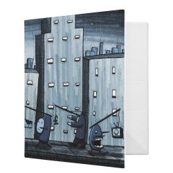 City Ring Binder by siclark