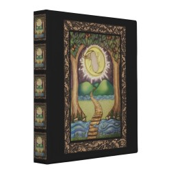 The Moon Tarot Card Album / Ring Binder by dreamlyn