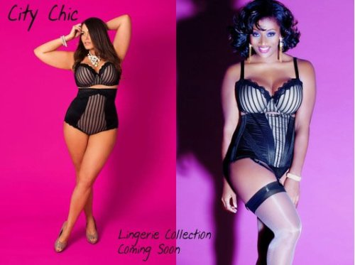 plusmodelmagazine:  City Chic Lingerie is coming soon!  looks lovely ! Shi xo