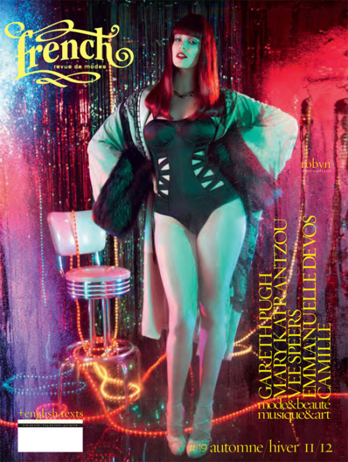 lovingthebeautifulyou:   Robyn Lawley Covers French Revue De Modes