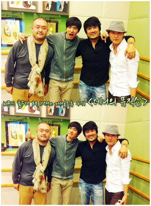 [110930] with JK Kim Dong Wook and his jazz project group 'Zebra Band'