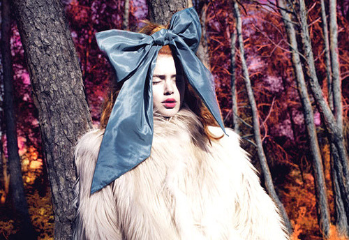 W (Aug 2007):  'Into the Woods' by Mert + Marcus (by calliope_soho)