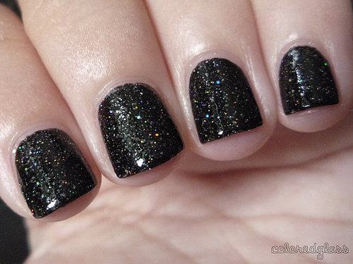 Why can't my nails look this awesome?! I also love this glitter! WANT!