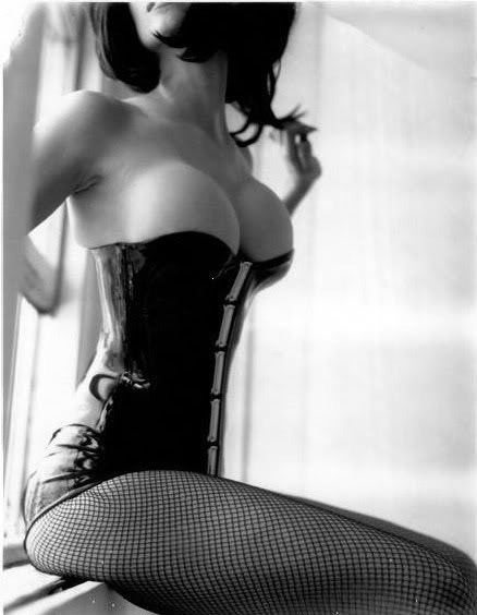 hypnotic-erotic:  ~56~  My that is barely containing them… I like…