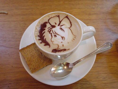 its-matty:  lostsplendor:  (via Kiki in My Coffee! - Imgur)  Kiki's Delivery Service vs. Coffee.  Well, that's damn adorable.  !!!!
