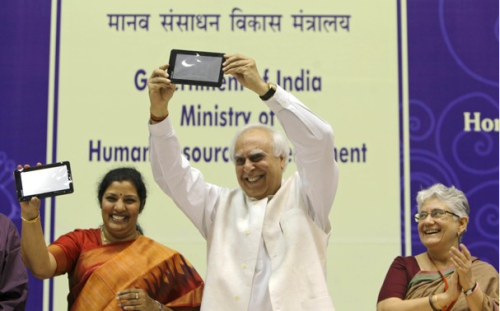 India announces $35 tablet computer to help lift villagers out of poverty I was listening to NPR and had to agree with the commentator…it runs on WiFi, not cell technology, which doesn't make much sense given the lack of WiFi infrastructure available to India's school children. Perhaps this will drive needed infrastructure development..?