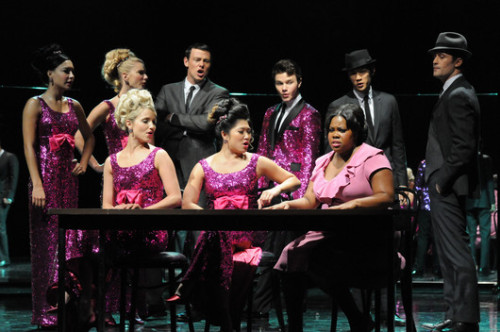 "chriscolferphotos:  Glee Season 3 Episode 3 'Asian F' - ""It's all over"""