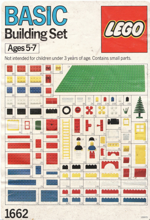 c86:  LEGO - Basic Building Set 1662, 1989 via Calsidyrose    why do women wear thong panties