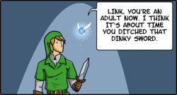 Navi Tells Link to Grow Up 1