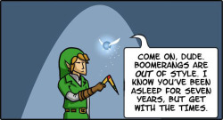 Navi Tells Link to Grow Up 3