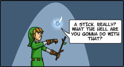 Navi Tells Link to Grow Up 4