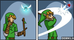 Navi Tells Link to Grow Up 5 & 6