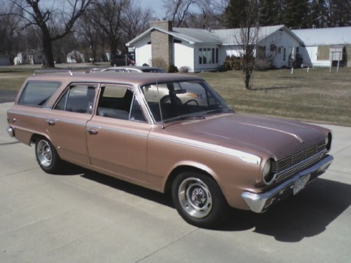 WAGON WEDNESDAY motoriginal:  Neefgeefd: 1965 Rambler American 330 wagon. Certainly not fast, but I've had it since I was 15.  I'm 22 now, and sometime down the road I want to give it a well deserved restoration! Sweet wagon! I always enjoy a pre-70s wagon. They had so much more style and sportiness than the panel wagons of the 70s & 80s. Almost 50 years old now, and looks like it's still going strong. Thanks!