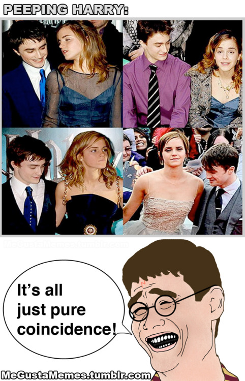 It's okay Daniel. Emma is hot, we understand :) Visit this blog for more funny comics.