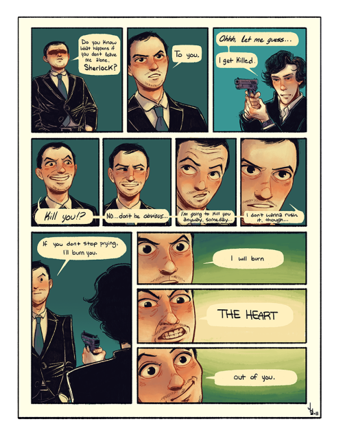 sherlockbbc:  jnwiedle:  DON'T WANNA WORK ON THIS NO MORE. You can view the (slightly bigger) version here.  AHHHHHH