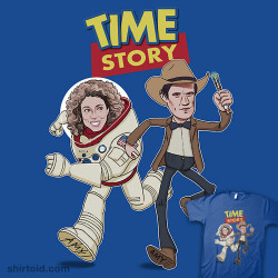 luongcat:  shirtoid:  Time Story available at RedBubble  OH MY GOD.I need this to be mine.
