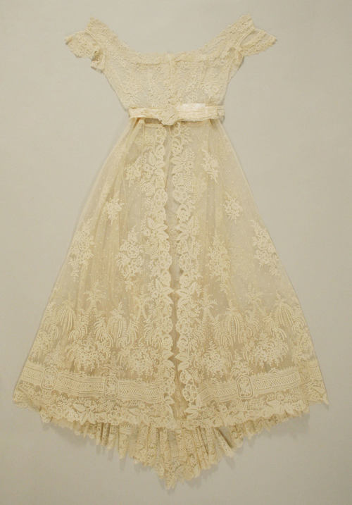 emilygracey:1869 French lace wedding gown