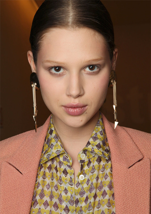 Anais Pouliot@EliteAgency Défilé Paul & Joe Eté 2012