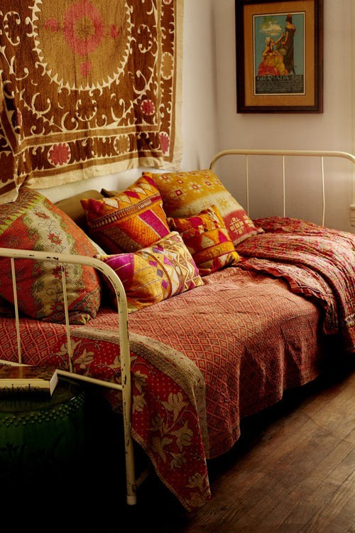 My Bohemian Home ~ Bedrooms and Guest Rooms Source: DesignSponge.com