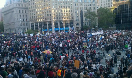 edwinedwinedwin:  OCCUPY WALL STREET, CENTRE STREET NYC