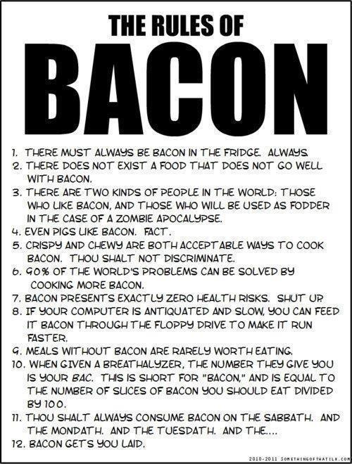 For bacon lovers