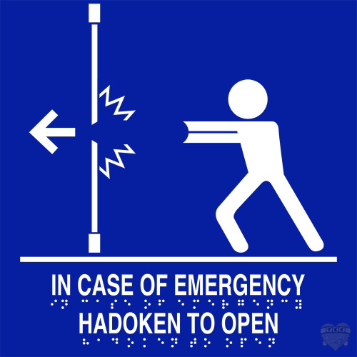 insanelygaming:  Hadouken to Open - by Anthony Duhamel Available on RedBubble