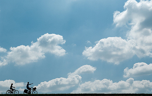 theluxuryoflife:  Riding the clouds (by (Erik))