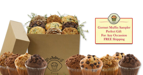 You will absolutely Love our giant gourmet muffin sampler- Free Shipping