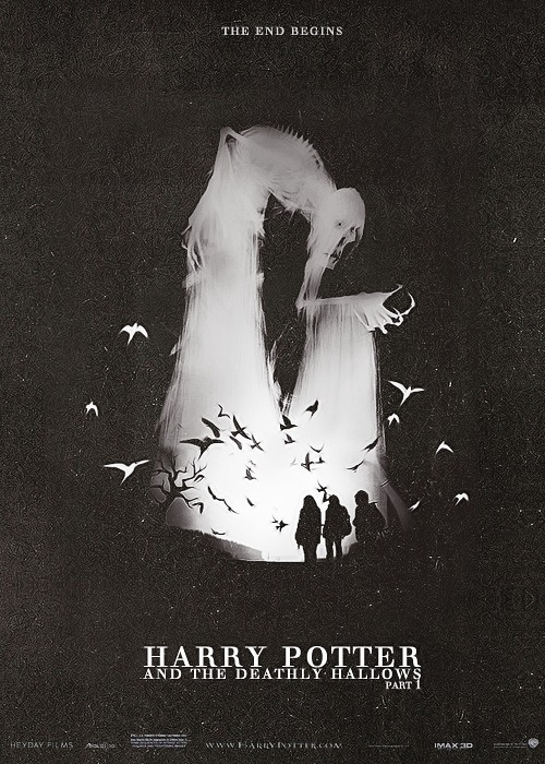 thefirsthorseman:  Movie Posters Remake → Harry Potter and the Deathly Hallows Part 1