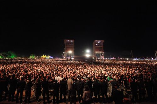 bennodabliss:  A Linkin Park crowd.