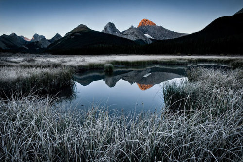 llbwwb:  Frost (via Luke Austin | Smashing Picture)  Amazing lake