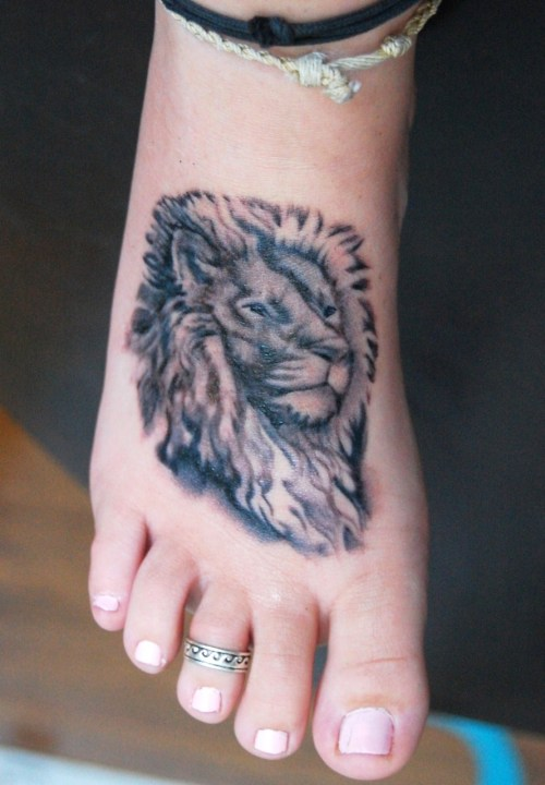 My lion tattoo by Sean Beck at Mom's Tattoo in Wilmington, NC ive wanted this tattoo for about 3 years and finally got around to getting it and im in love with it!