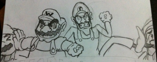 tetrishouse:  let's make this a reality. nintendo??  Mario & Luigi 4: Wicked Duo