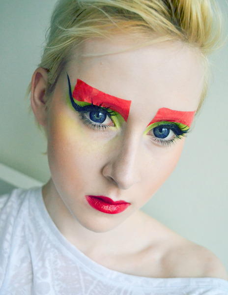 Check out Beautylish Beauty Marinka J.'s look - doing her own interpretation of the Dior Couture runway look!
