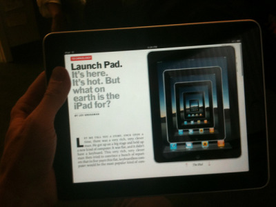 iPad recursion on Flickr.