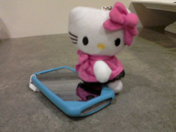 Big Hello Kitty Phone Charm $5+ shipping