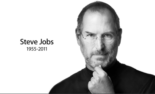 R.I.P To the man that made Apple, Steve Jobs. 1955-2011. Retweet if you have(had) an iPod, iPhone, MAC, or iPad!