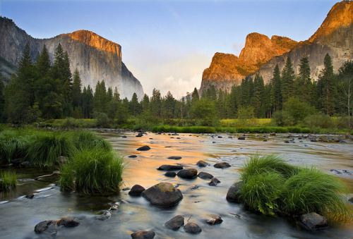 landscapelifescape:  Yosemite National Park, California, USA Gates of the Valley (by Landscape Images by David Shield)