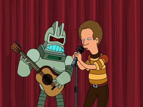 Cylon and Garfunkel
