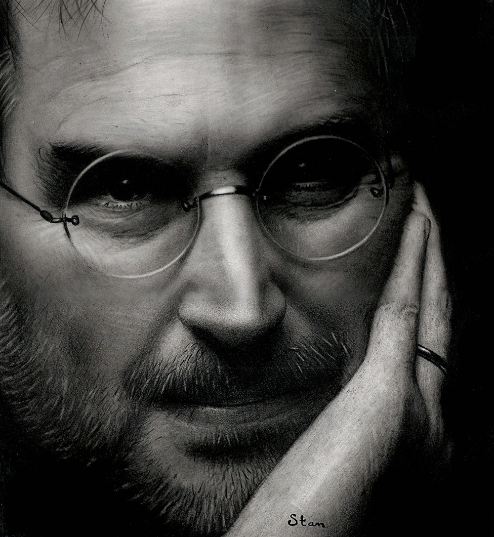 Steve Jobs by ~Stanbos Respect due.