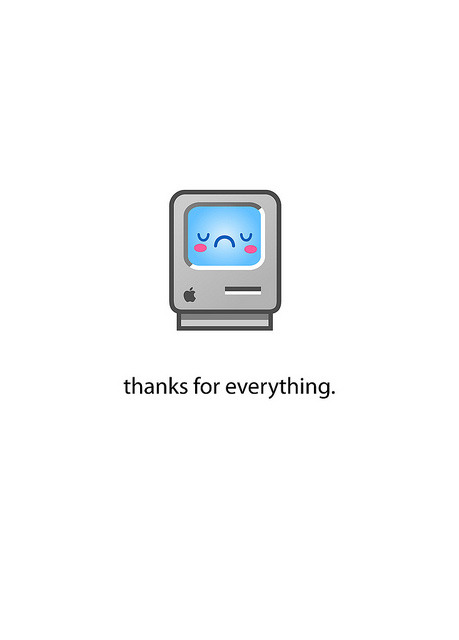 Sad Mac by Jerrod Maruyama on Flickr.