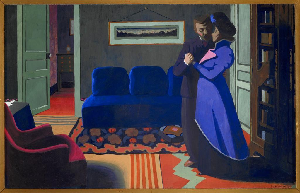The Visit 1899 Felix Vallotton