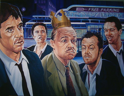 goldenmovieman:  Return of the King by David Macdowell